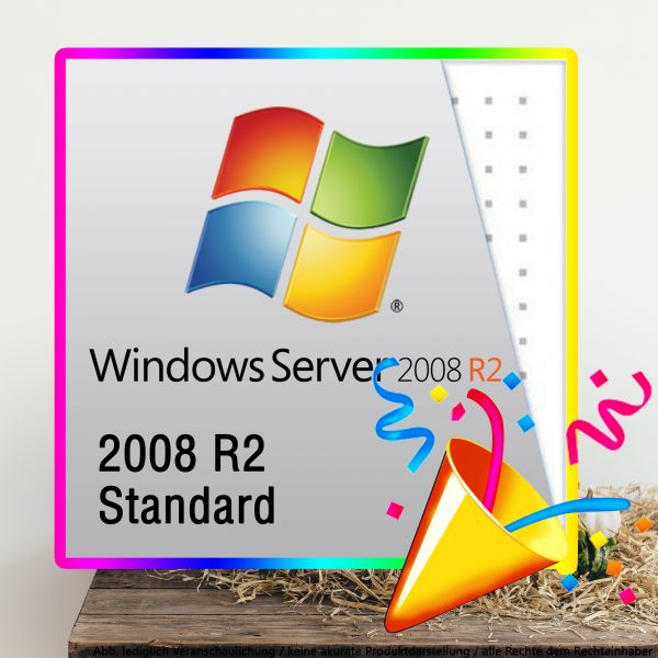 Server R2 2008 Standard Digital Download