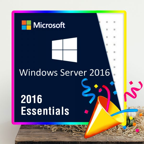 Server 2016 Essentials Digital Download