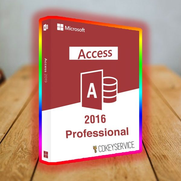 Microsoft Access 2016 Professional Digital Download