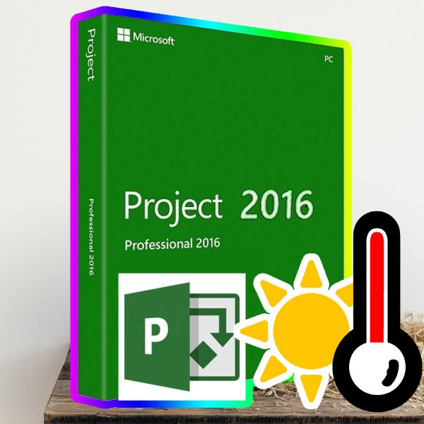 Microsoft Project 2016 Professional Digital Download