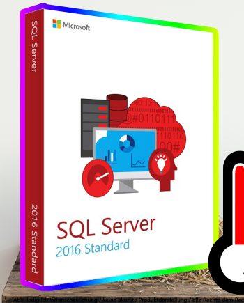 SQL Server 2016 Standard Digital Download