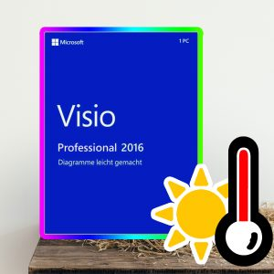 Microsoft Visio 2016 Professional Digital Download