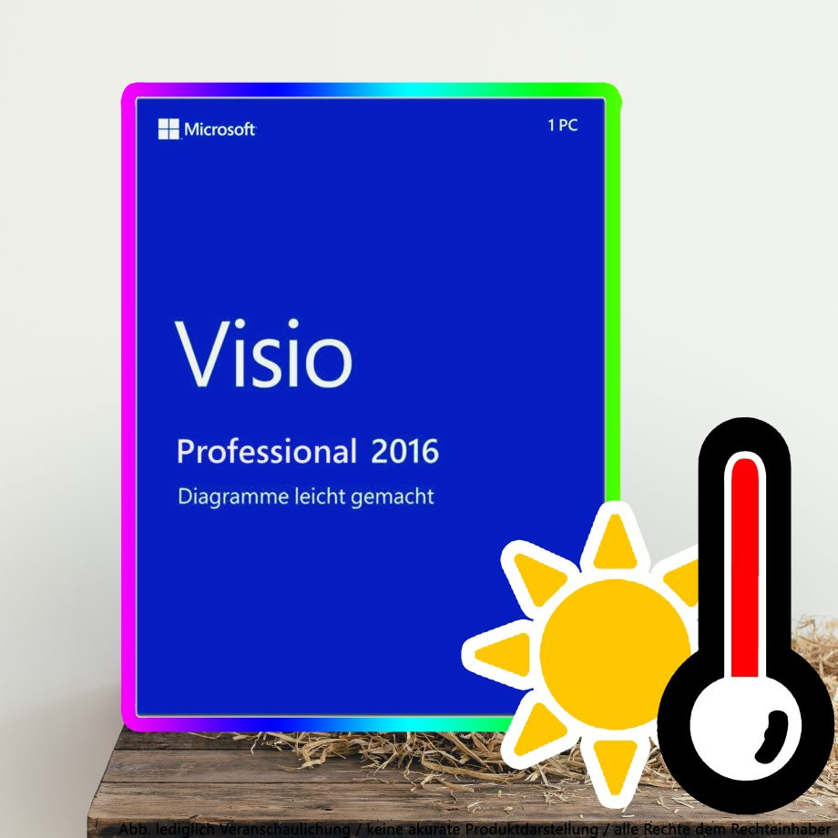 Microsoft Visio 2016 Professional Digital Download