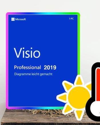 Microsoft Visio 2019 Professional Digital Download
