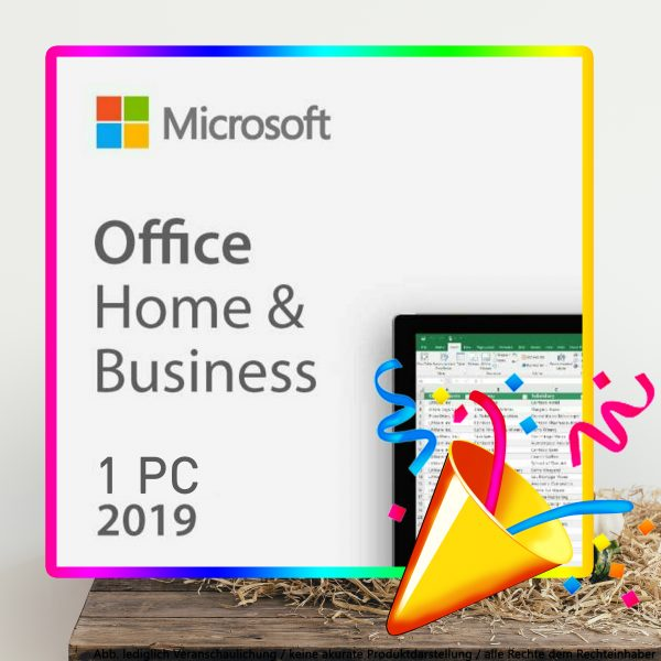 Office 2019 Home Business PC