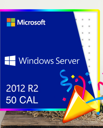 50 CAL User Windows 2012 R2
