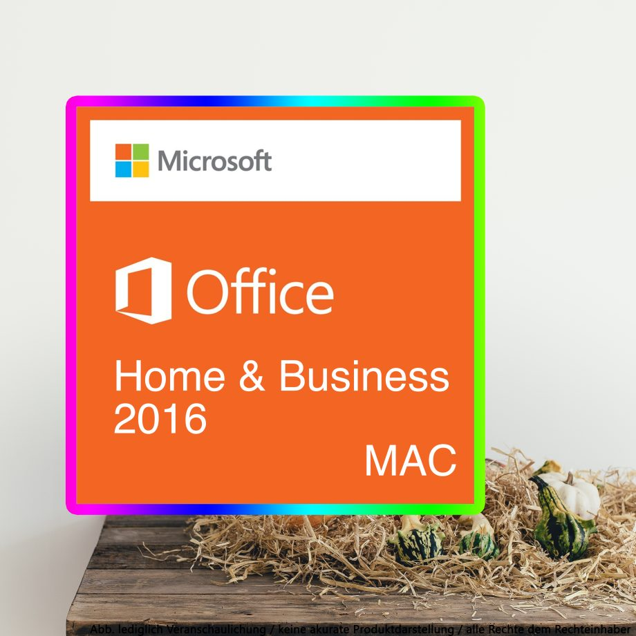 Office 2016 Home Business Mac