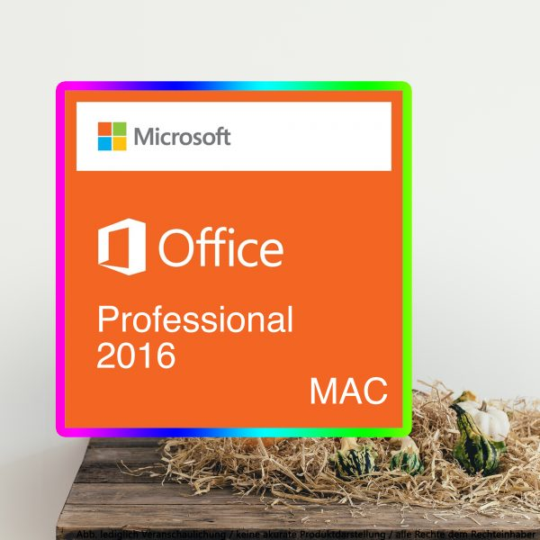 Office 2016 Professioanl für Mac