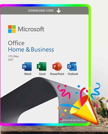 Office 2021 Home Business PC und MAC